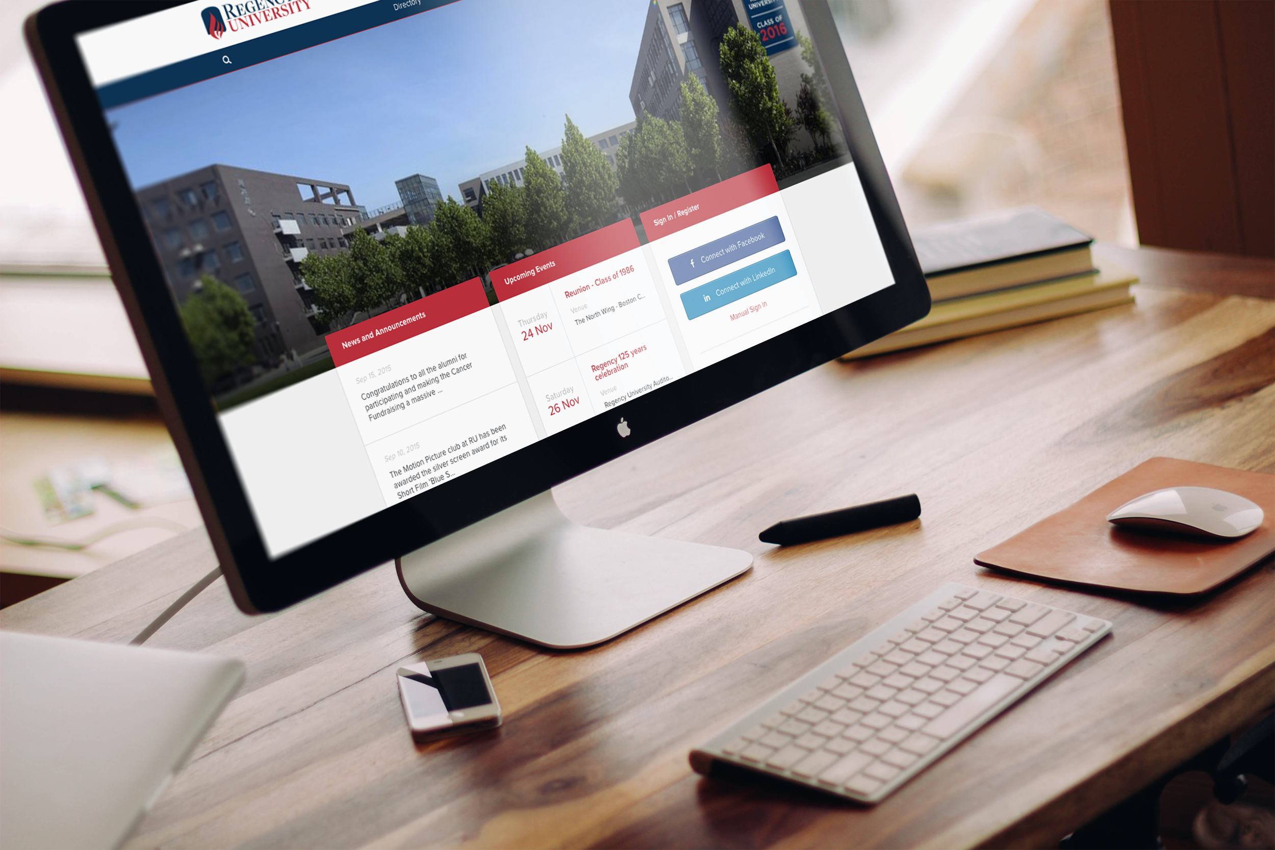 Almabase screenshot: A single platform to engage all your alumni