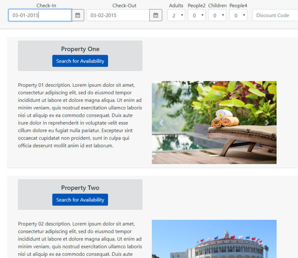 RDPWin property search