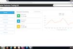 Capture d'écran pour onclouderp : OnCloudERP accounts summary screenshot
