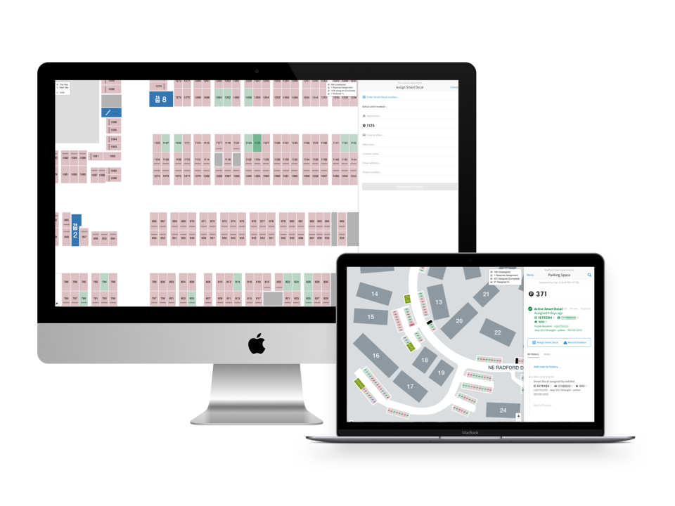 Parking Boss Software - Upload maps of parking lots for easy management
