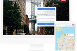 Hivebrite screenshot: Create a public space that is fully customizable with branding and dynamic content