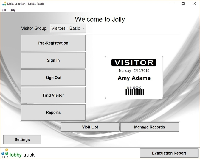Lobbytrack home page