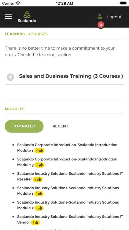 Scalando courses