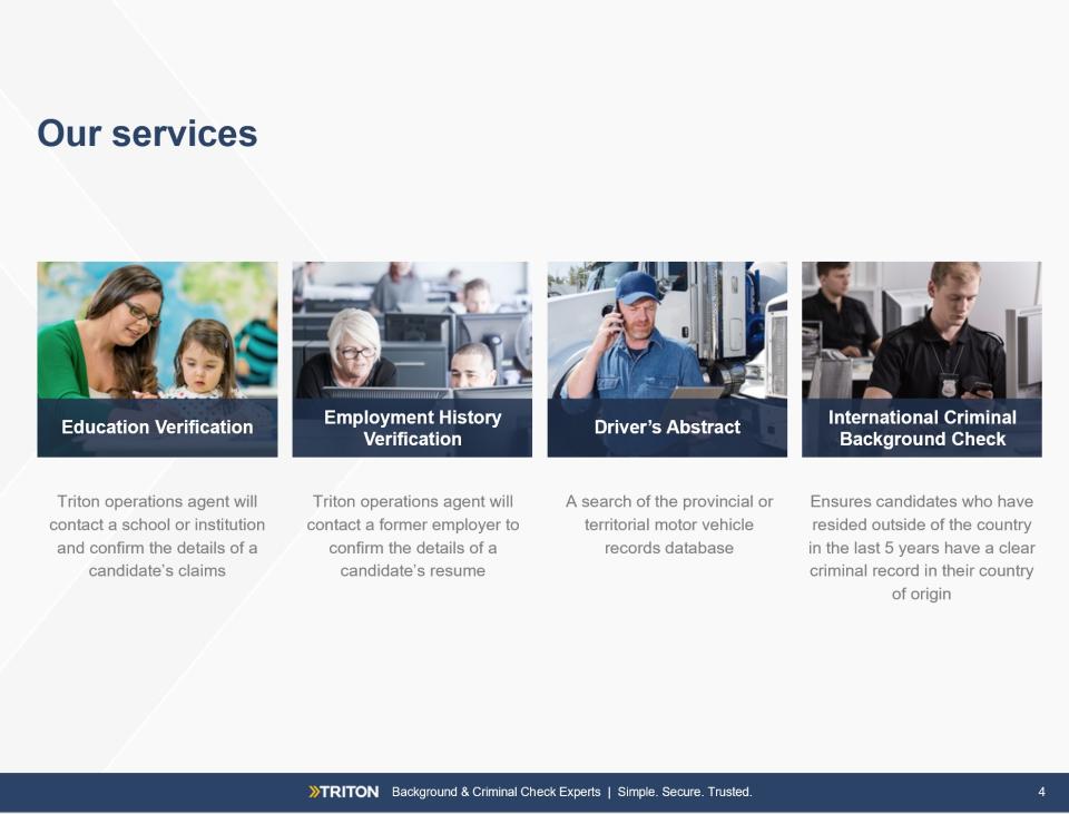 Triton Software - Pre-screening solutions