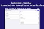 LeadDesk screenshot: Customizable reporting
