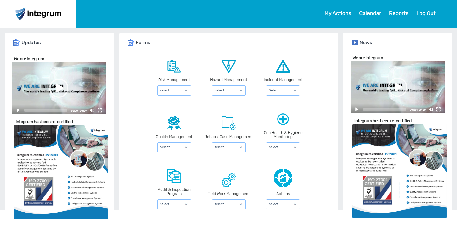 Configurable portals allow for secure online access for reporting incidents and much more