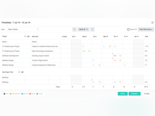Celoxis Software - Timesheet
