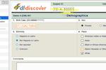 DFdiscover screenshot: DFdiscover add demographic information