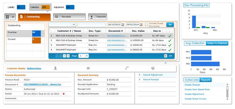 Ramco EAM on Cloud finance accounting screenshot