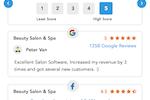 MioSalon screenshot: MioSalon feedback system