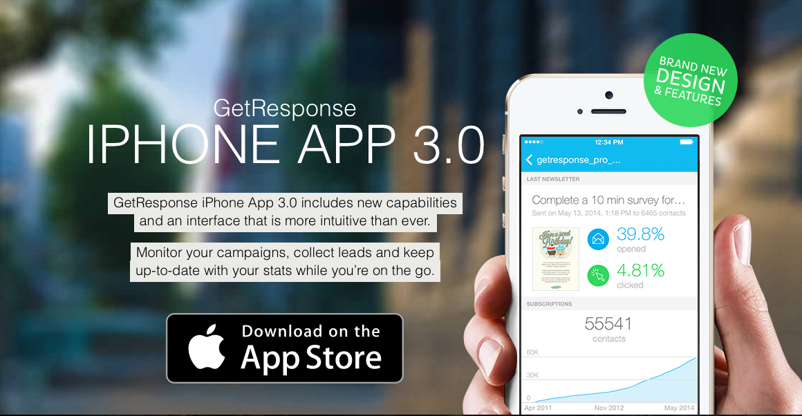 GetResponse iPhone App