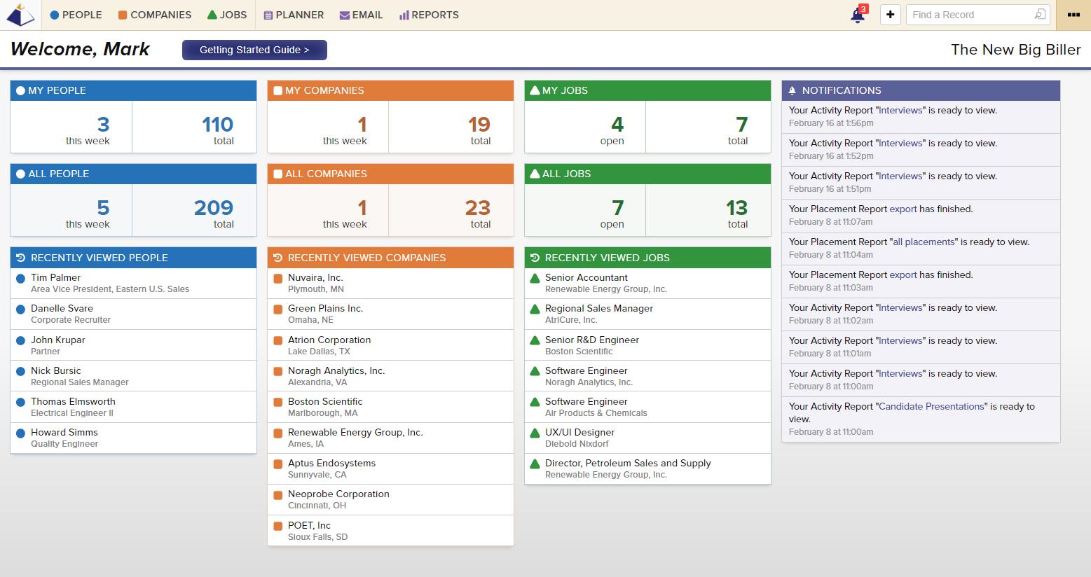 Big Biller Software - Home page