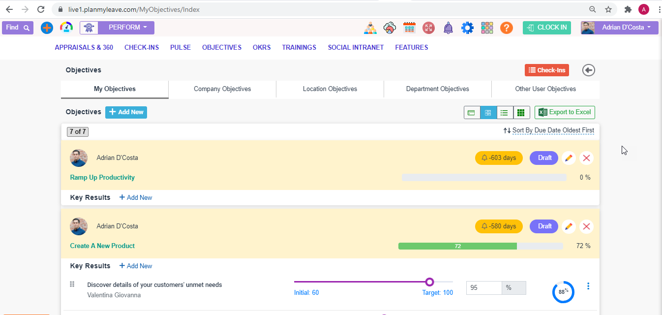 OKR Software Tools align objectives & results