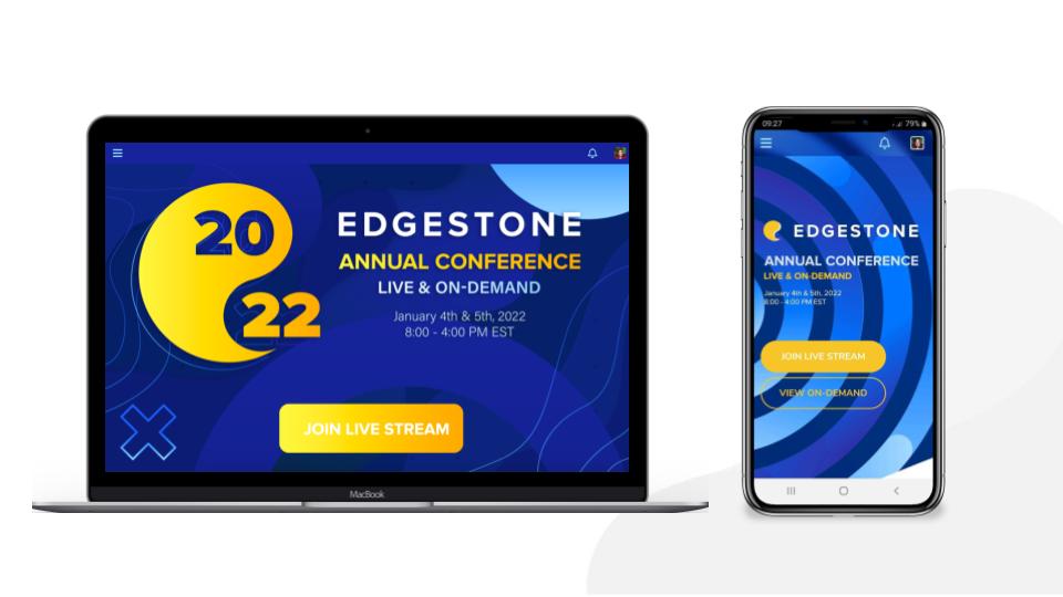 EventMobi screenshot: EventMobi's Event Space & Mobile App