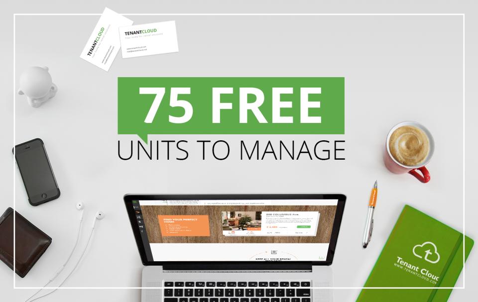 TenantCloud Software - 75 units to manage 4 free