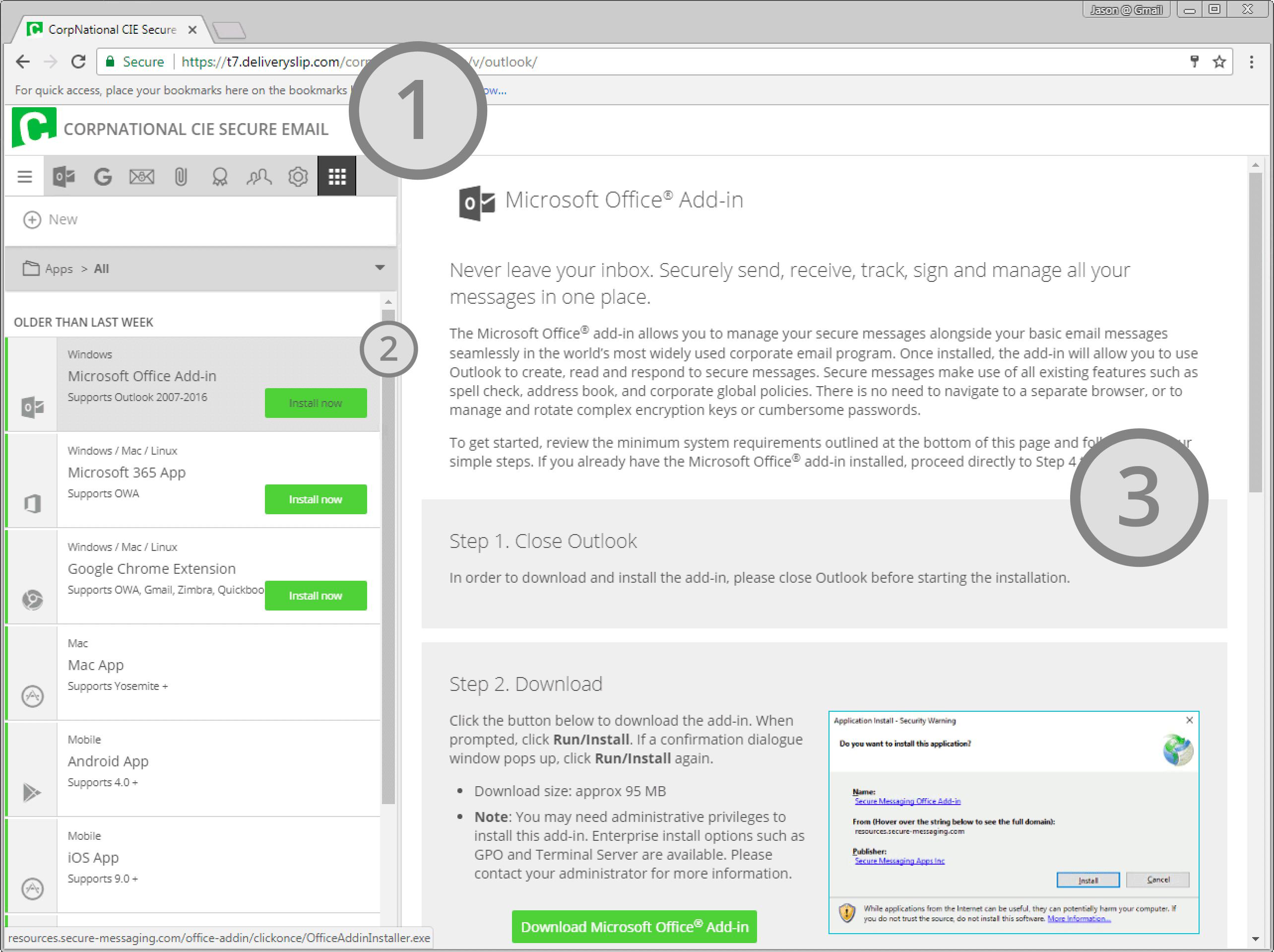 DeliverySlip Software - DeliverySlip Microsoft Office add-in