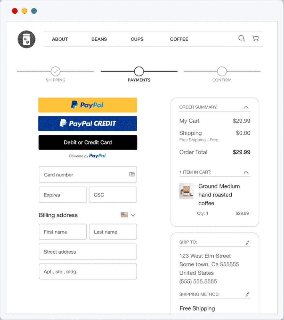 PayPal Commerce Platform Logiciel - 2