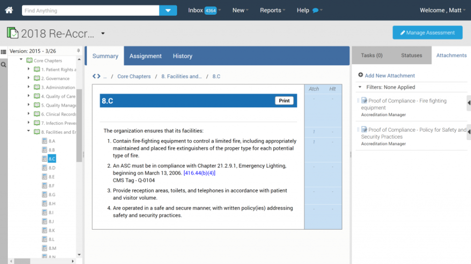 Policy revisions can be reviewed and tracked