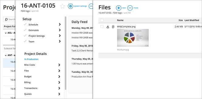 Share documents and files without having to worry about junk mail filters and missing versions