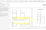 PDFelement screenshot: Commenting feature to collaborate with co-workers and assist workflow