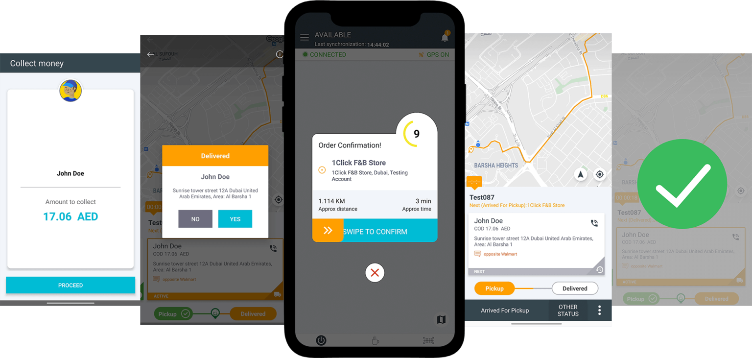 Our intuitive and easy to use drivers' mobile app enhances drivers performance & utilization and improves customer satisfaction by nurturing features like in-app messaging, order tracking & notifications, route optimization, cash management, and others