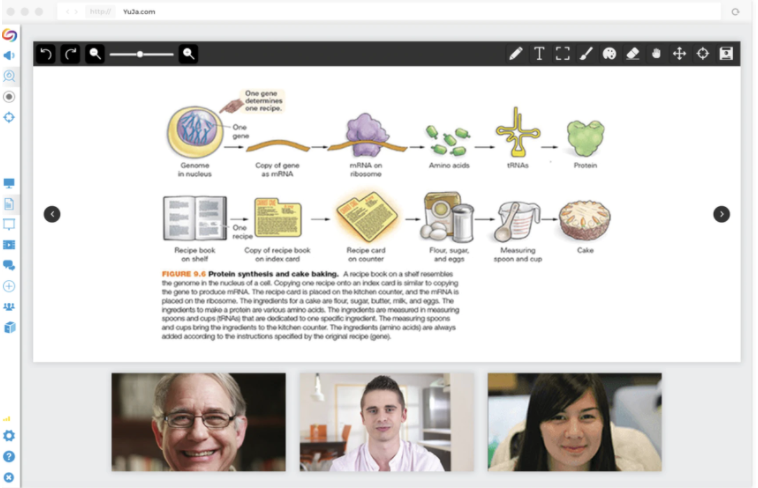 YuJa virtual classroom
