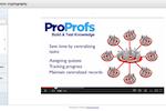 ProProfs LMS screenshot: video_player_training