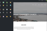 Subsplash screenshot: Customize the layout and content on the branded church website