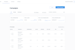 SendGrid Screenshot: SendGrid campaigns