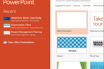 Capture d'écran pour Microsoft PowerPoint : Design unique and compelling presentations