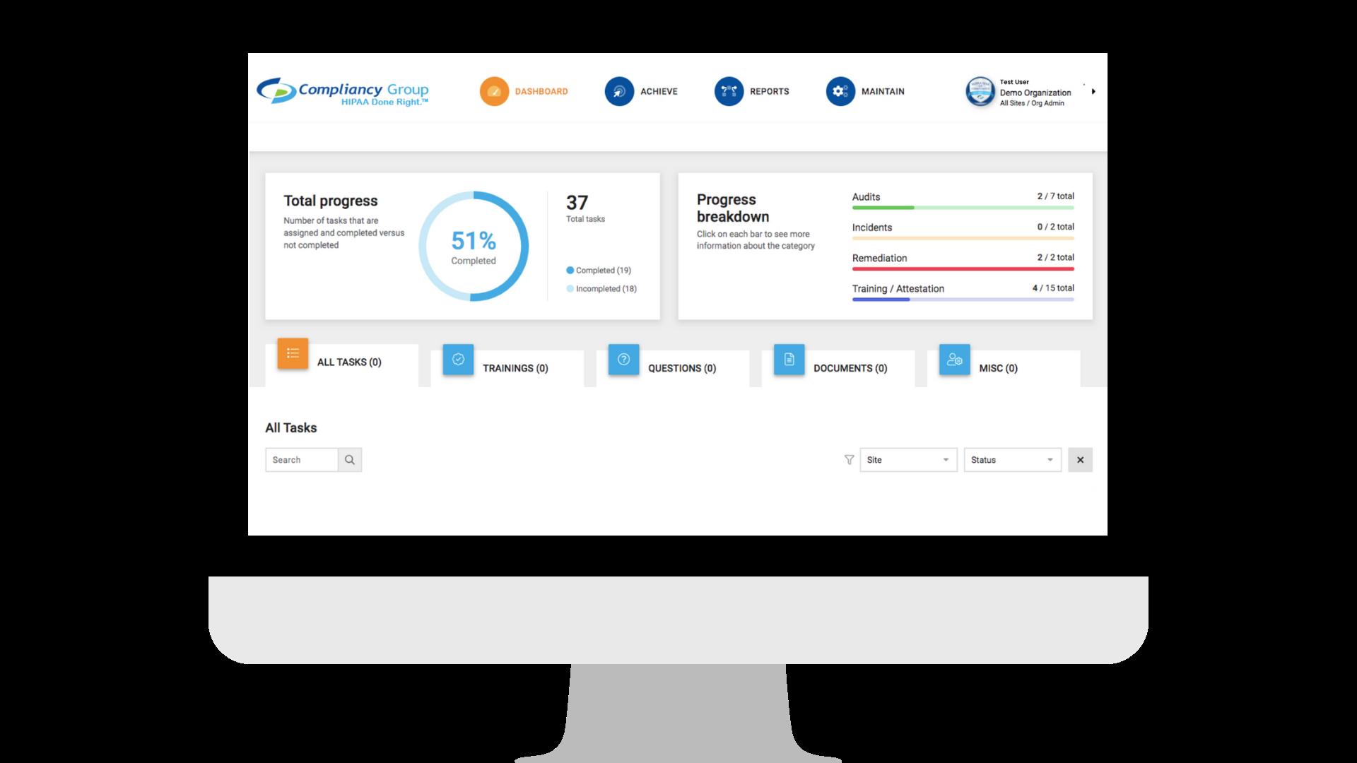 HIPAA Compliance Software Logiciel - 1