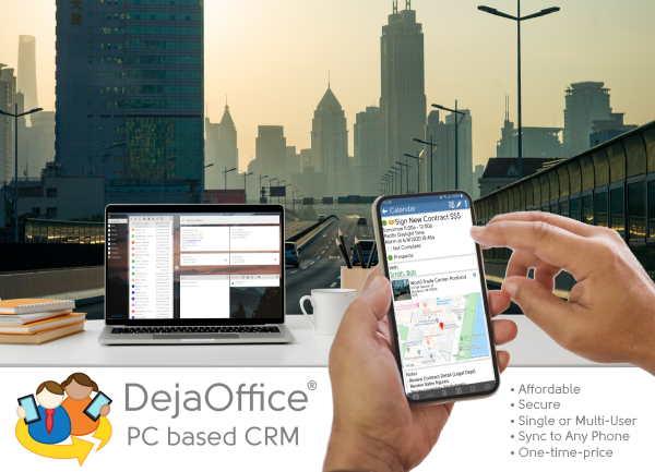 DejaOffice PC CRM Software - 1
