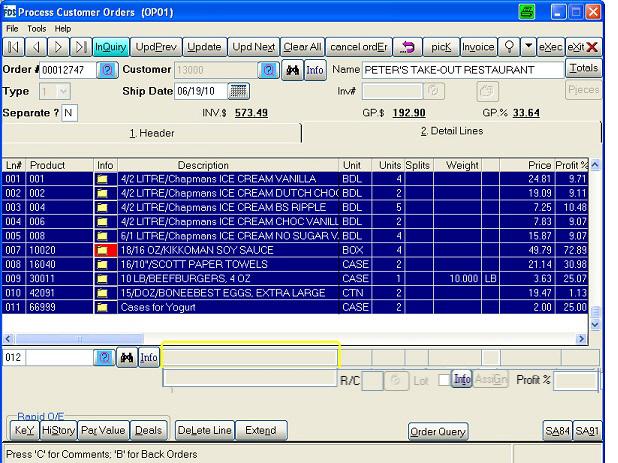 WinFDS Software - 1