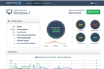 Kenna screenshot: Get a clear insight into risk with Kenna reports