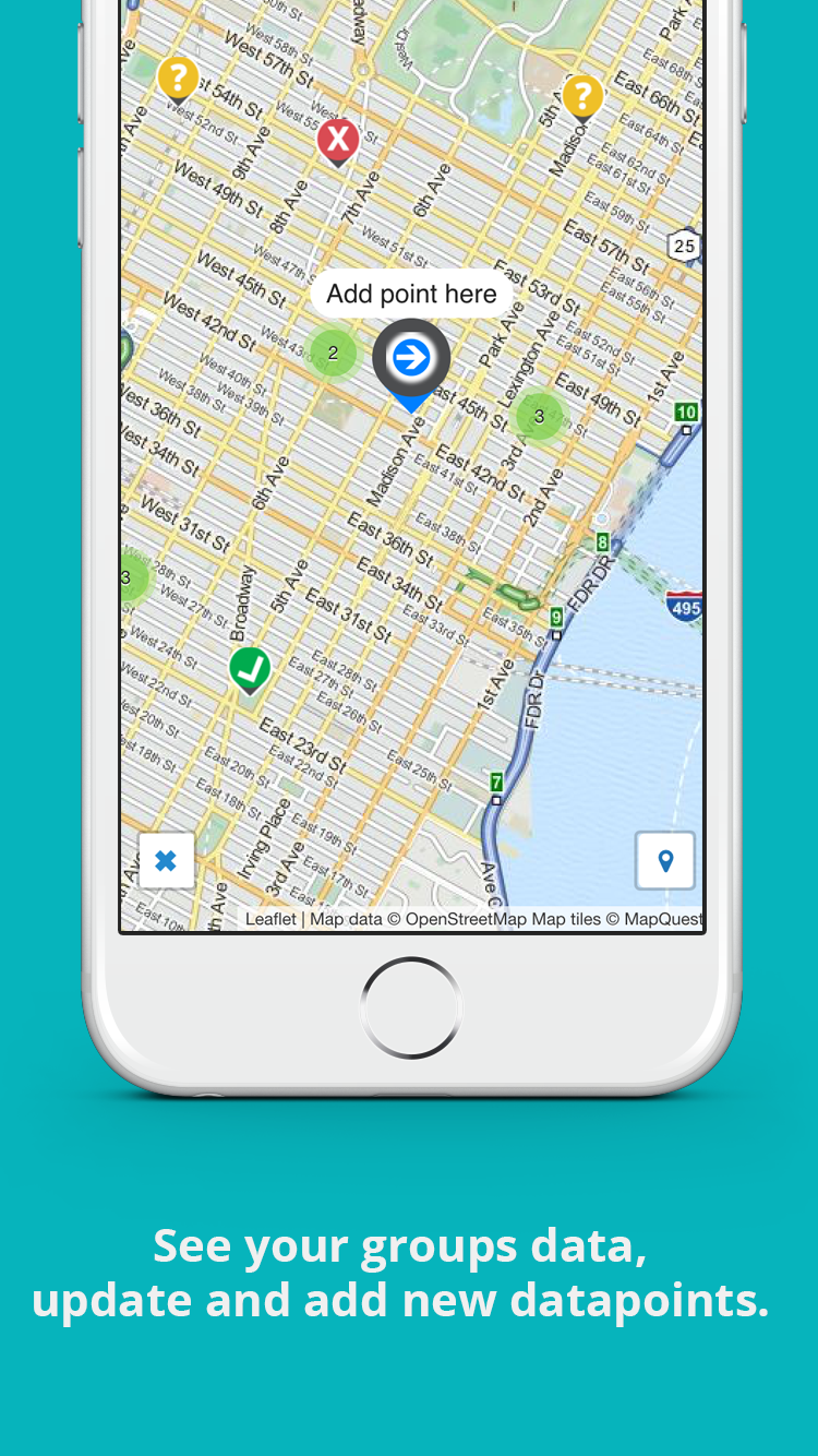 Mobile map