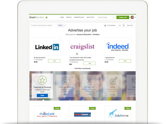 Post jobs on online job portals