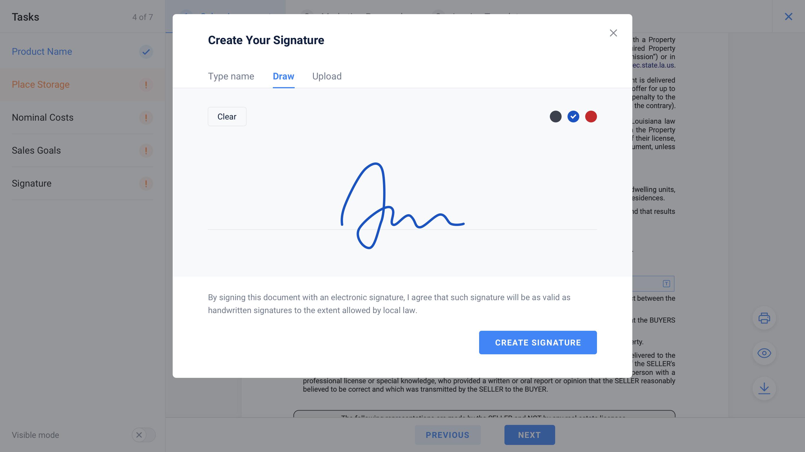 Formsio digitally sign documents