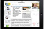 Knovio screenshot: Recording a Knovio with the iPad's built-in camera