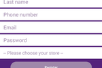 Mallcomm screenshot: Mallcomm visitor registration