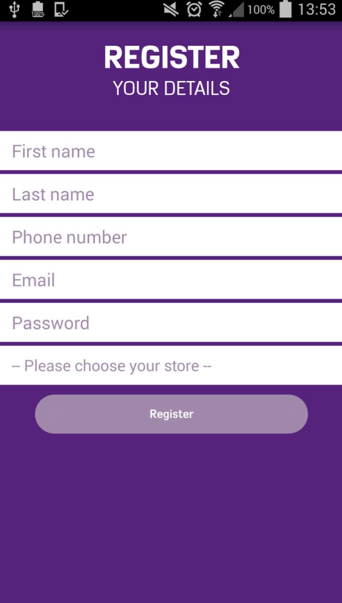 Mallcomm visitor registration