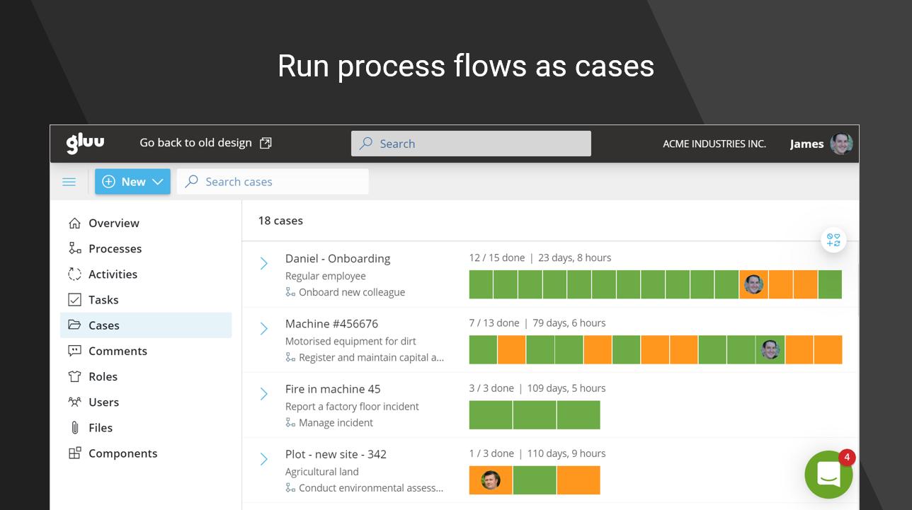 Gluu Software - Case management
