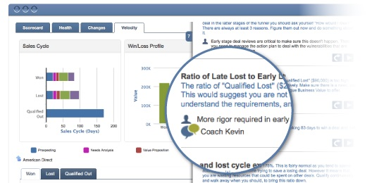 Upland Altify Software - Sales performance insight