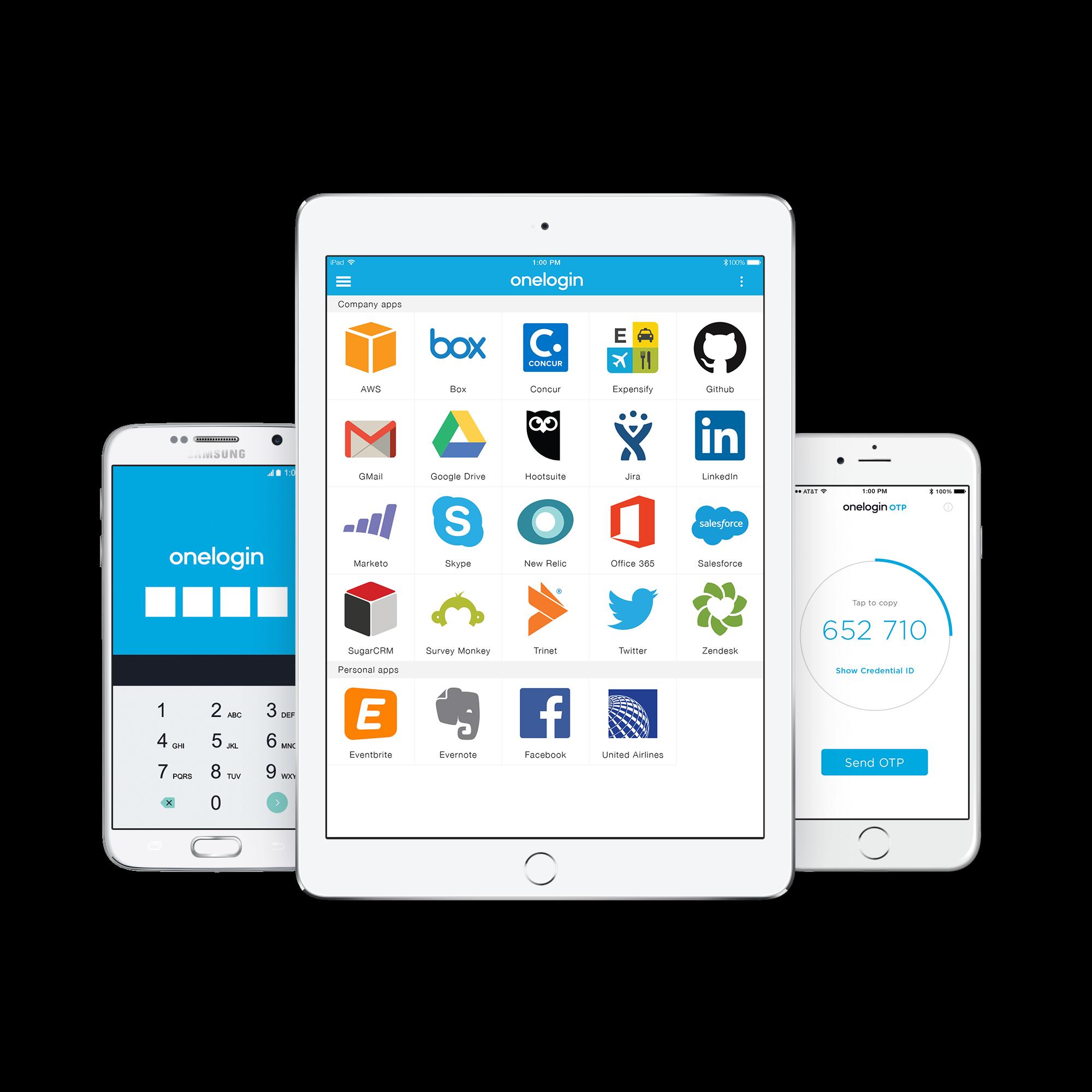 OneLogin Software - OneLogin apps