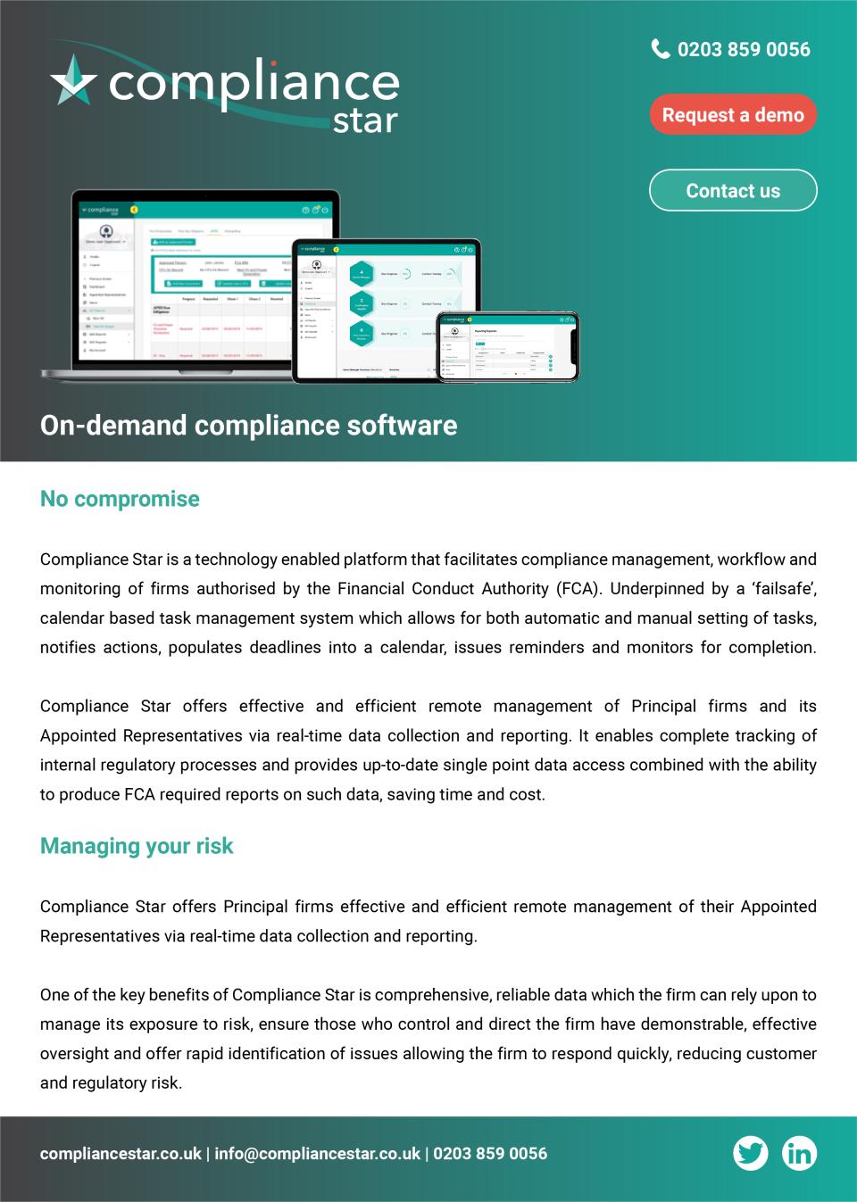 Compliance Star Software - 4
