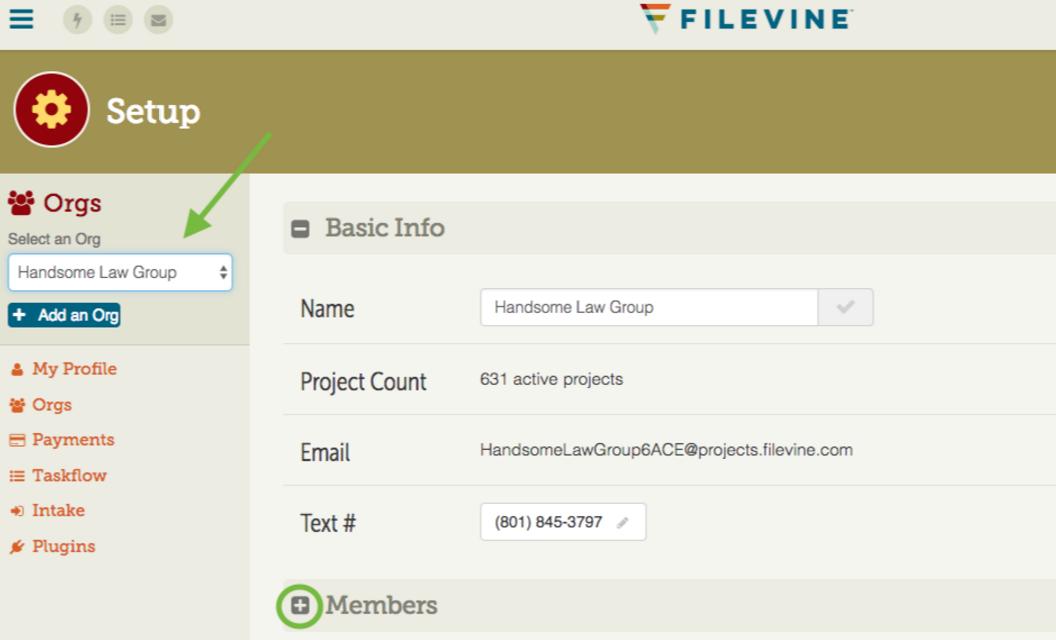 Users can create an organization profile