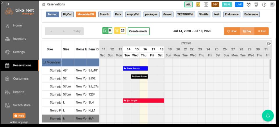 Bike Rental Manager Software - 1