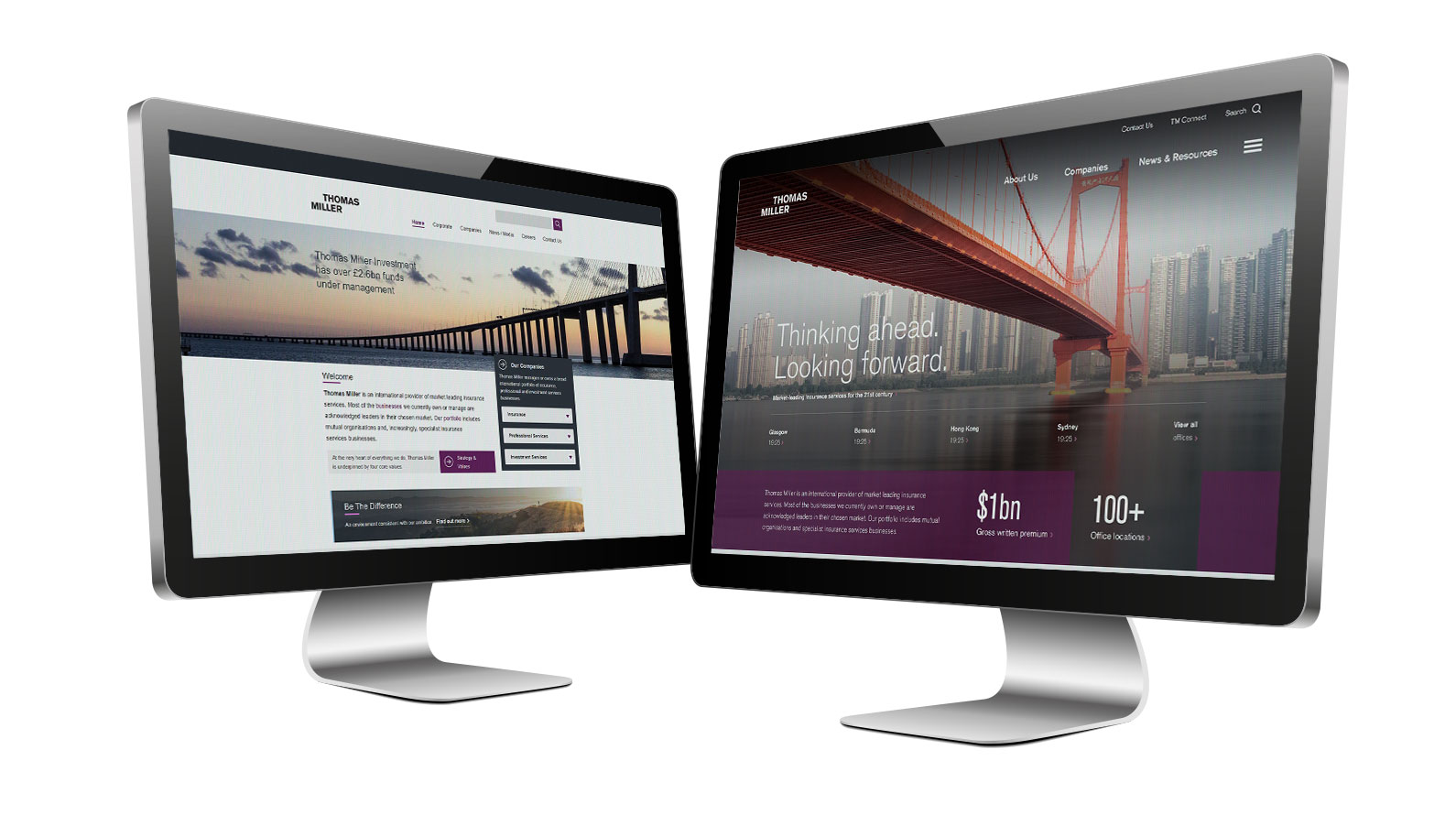 Sitecore Experience Platform with Pancentric screenshot: Digital estate replatforming