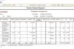 Captura de pantalla de 3PL Warehouse Manager: Inventory reports - 3PL Warehouse Manager