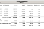 AccuFund Accounting Suite screenshot: Users can generate custom invoices using the form designer in AccuFund for Nonprofits