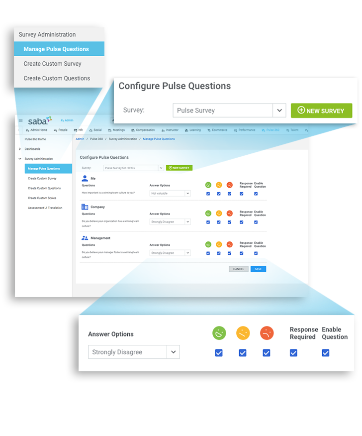 Saba Cloud Software - Employee Engagement